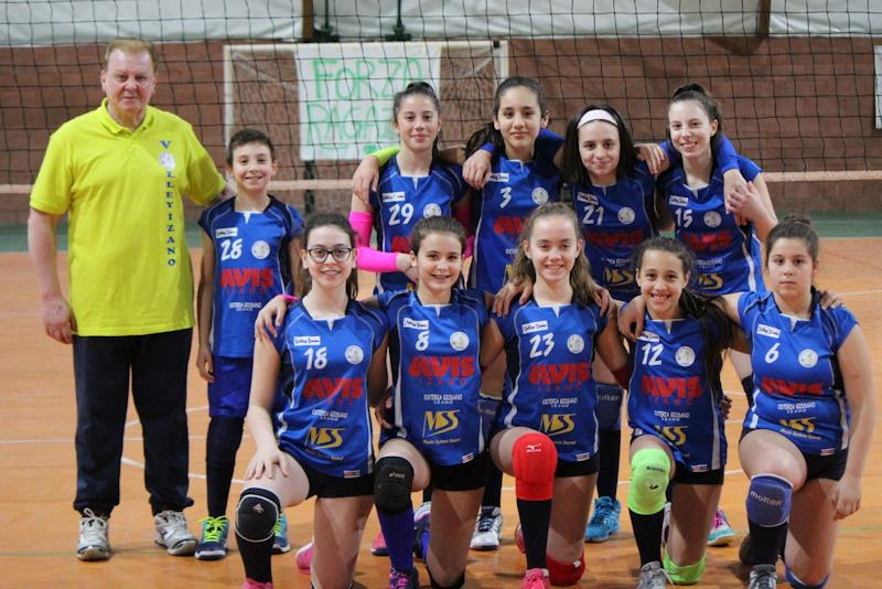 A Madignano le finali di volley, categoria Under 13 CSI